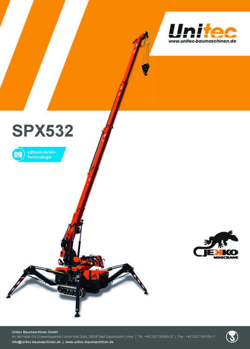 Jekko Raupenkran SPX 532