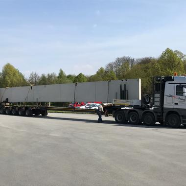 30m langer Betonbinder