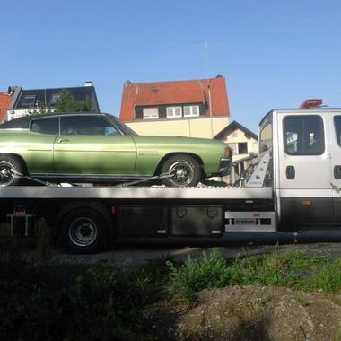 Oldtimerüberführung eines Chevrolet Chevelle