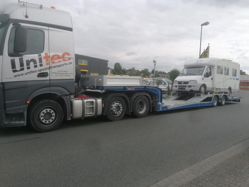 Truck-Carrier für Überführungen