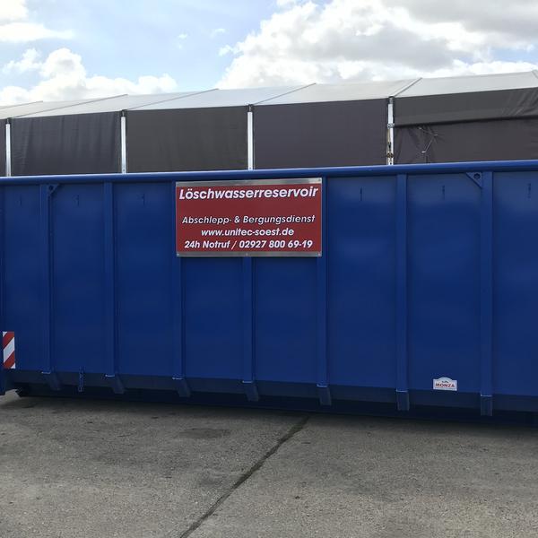 Löschwasserbehälter für die Feuerwehren im Kreis Soest