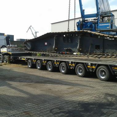 Kettenlaufwerk mit 60 Tonnen Gewicht
