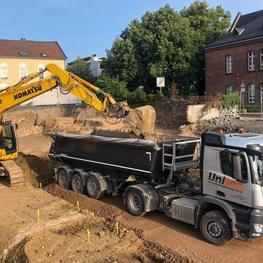 Schüttguttransport Bodenaushub