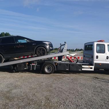 Überführung eines Ford Kuga zur Werkstatt